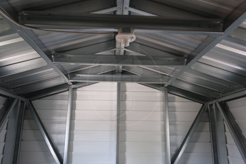Interior of Portable Building